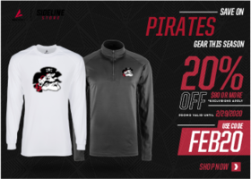 CMS Pirate Gear