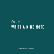 30-Day Kindness Challenge!