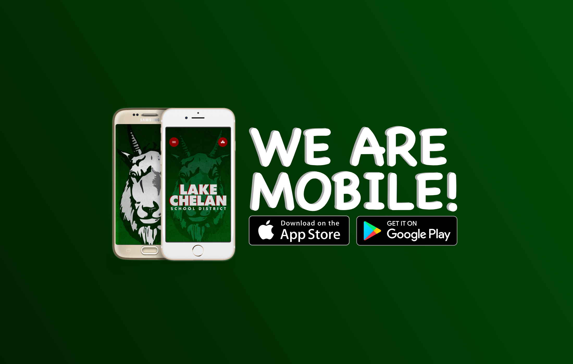 Lake Chelan Schools now has a mobile app. Find it in the app store.